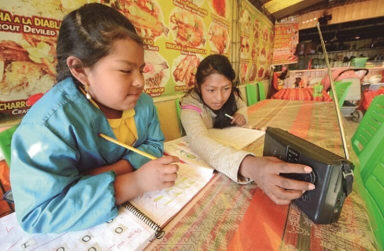 Utdanning i Copacabana (foto: Víctor Gutiérrez / Página Siete)