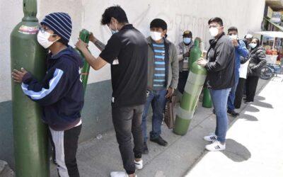 «Det er som en krigssone» sier lege om sykehusene i La Paz.