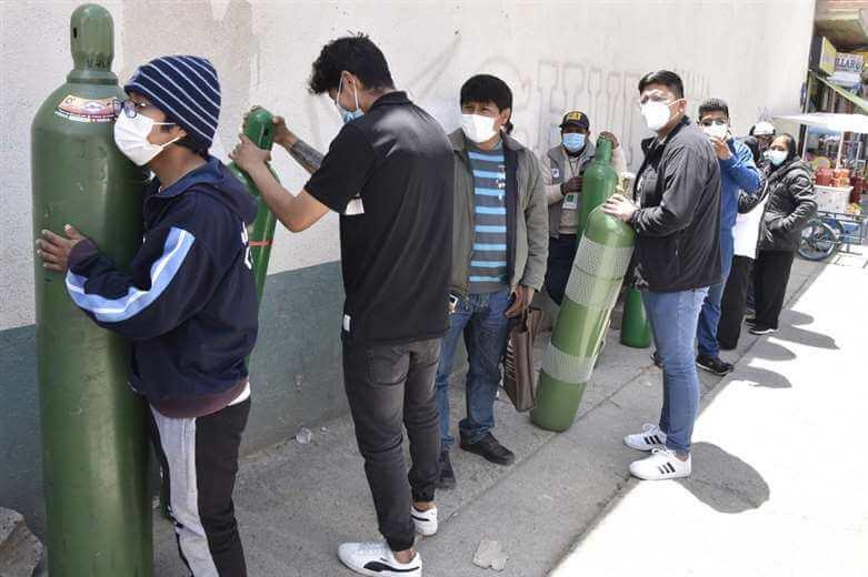 La situación en los hospitales de La Paz