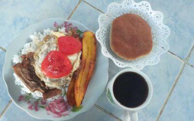 Oppmuntring med frokost i Coroico